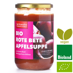 Bio-Rote Bete-Apfelsuppe